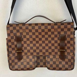 Louis Vuitton Broadway Messenger Bag Damier Ebene